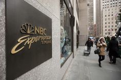 NBC Experience Store at 30Rock    where half of my trip's budget will go. hay.