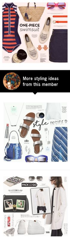 """""""Yep, They're In! The One-Piece"""" by katarina-blagojevic on Polyvore featuring Duskii, Topshop, Kenzo, Kayu, Mondelliani, Gucci, ChloBo, Bobbi Brown Cosmetics and onepieceswimsuit"""