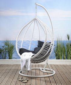 NAXOS-riipputuoli Terrace Decor, Hanging Chair, Backyard, Furniture, Home Decor, Patio, Decoration Home, Hanging Chair Stand, Room Decor