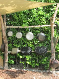 Our outdoor Music Wall