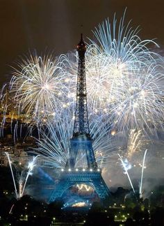 #Paris fireworks