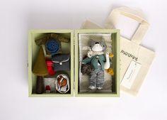 Image of RESERVED for NIKKI: mini fox Gib set