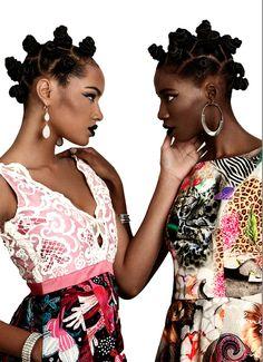 VINTAGEVIRGIN — continentcreative:   Angolan designer Rose...