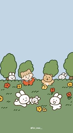 Cute Pastel Wallpaper, Soft Wallpaper, Cute Patterns Wallpaper, Cute Anime Wallpaper, Wallpaper Iphone Cute, Aesthetic Iphone Wallpaper, Aesthetic Wallpapers, Wallpapers Kawaii, Cute Cartoon Wallpapers