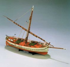 The Mamoli Model Ship Kit Leudo is a quality Mamoli Model Boat Kit making for a great Wooden Model Ship Kit. Order Online Today!