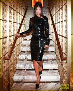 Ciara & Lily Aldridge Stun in Black at Bulgari Store Opening