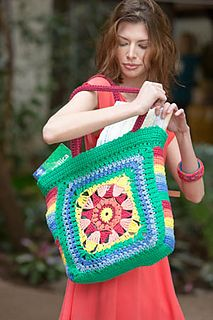 Neverland Tote by NTmaglia - Interweave Crochet Summer 2015 / Harper Point Photography