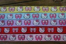 Set grosgrain lint Hello Kitty