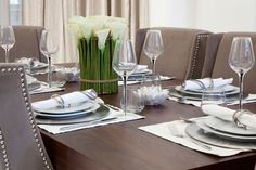 Dining Table Setting | JHR Interiors