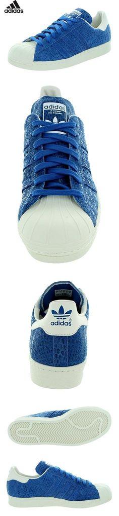 best service d2eb4 9786f  59.99 - Adidas Women s Superstar 80s W Originals Surblu Surblu Cwhite  Basketball Shoe 6.5 Women US