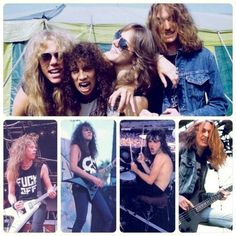 early metallica | Early Metallica | Stuff I like | Pinterest
