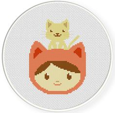 FREE for Sept 14th 2014 - My Pet Kitty Cross Stitch Pattern