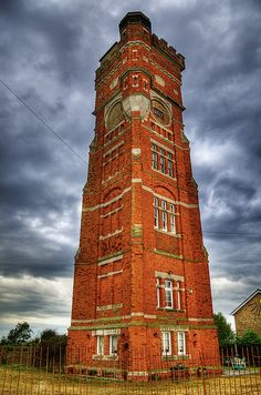Littlestone, England water tower