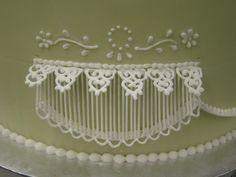 Pipping String Work Fondand Gum Paste Flowers And Hand Sculpting cakepins.com
