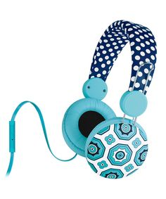 Look what I found on #zulily! Navy Malibu Over-Ear Headphones by The MacBeth Collection #zulilyfinds