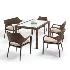 Outdoor Domus Ventures Sarzana Stackable Dining Chair - 650406