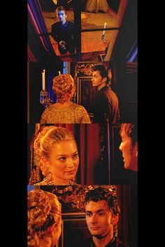 fuckyeahtvpicspam:  Madame du Pompadour: You know all their names, don't you? I saw that in your mind. The name of every star.The Doctor: What's in a name? Names are just titles; titles don't tell you anything.Madame du Pompadour: Like The Doctor.The Doctor: Like Madame du Pompadour. [They laugh]Madame du Pompadour: I have often wished to see those stars a little closer, just as you have, I think.The Doctor: From time to time.Madame du Pompadour: In saving me you trapped yourself. Did you…