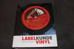 LABELKUNDE VINYL, German book about the labels of vinyl records. important for collectors of original pressings, identified them mostly by the label.