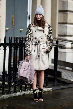 Street style Londres London Fashion Week otono invierno 2014