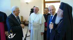 DIRETTA Incontro per la pace tra Papa Francesco, Shimon Peres e Mahmoud Abbas http://goo.gl/bL3xaa #weprayforpeace