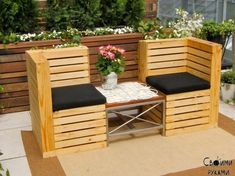 Garden Furniture Out Of Pallets diy patio furniture from pallets | for the home | pinterest