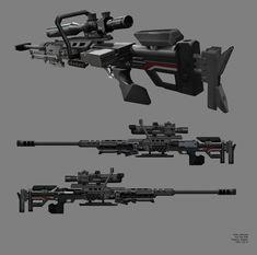 Titanfall 1: Kraber-AP Anti-Personnel/Materiel Sniper Rifle, Ryan Lastimosa
