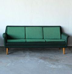 Folke Ohlsson; Sofa for Dux, c1960.