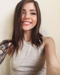 Tag a friend that would love to see @jam_suicide #smile <3 Click the link in our bio for exclusive images of this #SuicideGirl - #SG #SuicideGirls #GirlsWithTattoos