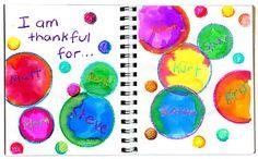 thankful bubbles http://www.artprojectsforkids.org/search?q=thankful+bubbles