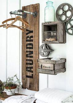 Small laundry room storage and organization ideas (39)