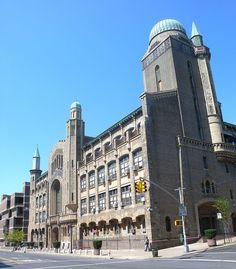 Zysman Hall jeh - Yeshiva University - Wikipedia University High School, World University, Moorish Revival, Yeshiva University, Ivy League Schools, University Rankings, Us School, Washington Heights, School Of Engineering