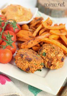 Kotleciki mięsno - jaglane z rodzynkami | Zdrowe Przepisy Pauliny Styś