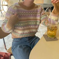 Korean Outfits, Mode Outfits, Winter Outfits, Fashion Outfits, Cute Casual Outfits, Pretty Outfits, Estilo Indie, Style Vintage, Facon