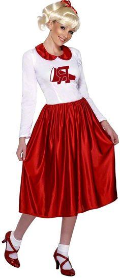 Et si vous reviviez les début du rock'n'roll, le tout en robe de bal avec ce déguisement Grease pour femme ?!