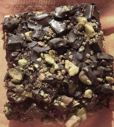 Chef AJ's Outrageous Healthy Brownies-- use oat flour in place of barley for GF...