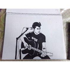 hopeless_hopper/2016/08/19 19:13:02/Alex Turner... from the Arctic Monkeys.. #monochromeartist #monochrome #alexturner #arcticmonkeys #blacknwhite #likeforlike #art #artsy #selfthough #artist #leadsinger #guiter #blackguitar #artshelp #mono #artfromheart #artofdrawing #drawing #drawinglover #indiegirl #indie #indieband #garageband #love #pokemongo #tattoo #music