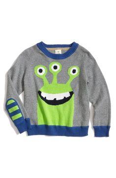 Intarsia boys sweater - Tucker + Tate Knit Cotton & Cashmere Crewneck Sweater (Toddler Boys) | Nordstrom