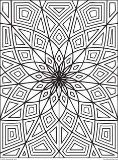 Adult Coloring Pages: Abstract-1