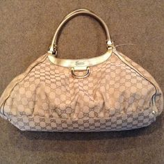 92da06199612 SOLD    Authentic GUCCI shoulder handbag