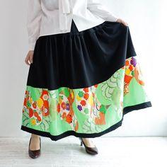 HAREGI スカート鮮やかな黄緑色のお祝い着から新作が出来ました Boutique, Skirts, Instagram, Fashion, Moda, Fashion Styles, Skirt, Fashion Illustrations
