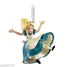 Alice In Wonderland Tumbling Disney Christmas Tree Ornament 2011 NIB Lenox Christmas Ornaments, Hallmark Ornaments, Christmas Ideas, Disney Dream, Disney Love, Disney Magic, Disney Nerd, Disney Princess, Sculptures