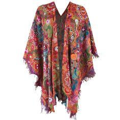 Shop Anu Ruana Embroidered Shawl at pintoranch.com. Enjoy FREE Shipping over $100.