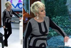 moda do programa Mais Você - look da Ana Maria Braga dia 17 de julho