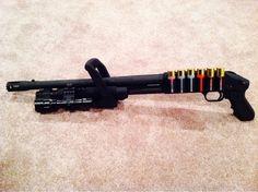 american rifleman mossberg 500 chainsaw zmb edition