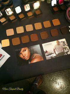 New pro pan creme foundation from AJ Crimson!! #makeup #beauty #WOC