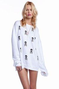 wildfox couture long sweater