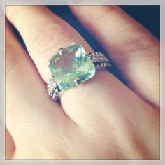 #GreekIsle #Ring #liasophia #ringgame #aqua #mint #statement #spring #fresh Mint Jewelry, Ring Game, Greek Isles, Aqua, Bling, Bridesmaid, Fresh, Engagement Rings, Maid Of Honour