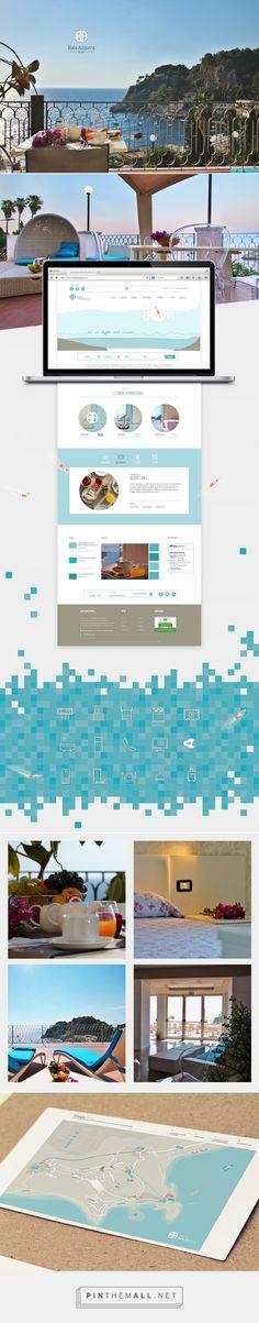 Hotel Baia Azzurra, sito web on Behance - created via https://pinthemall.net