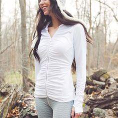 flatter me zip hoodie - albionfit.com