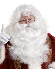 Santa Wig and Beard Set 8be8d3e2fb